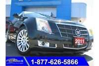 2011 Cadillac CTS Performance Coupe AWD - Moonroof & Leather