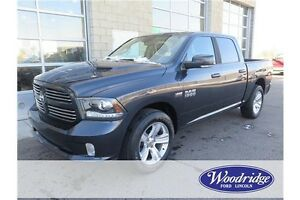 2013 RAM 1500 Sport 5.7L V8, SUNROOF, LEATHER