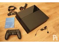 Black PS4 500GB for sale