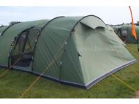 6 man tent Vango Icarus 600 with enclosed extension and Carpet