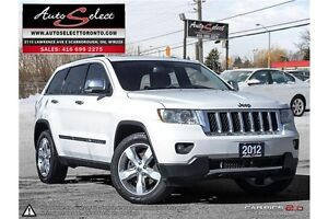 2012 Jeep Grand Cherokee 4WD **OVERLAND** ONLY 86K! TECHNOLOG...