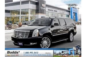 2011 Cadillac Escalade ESV Base Safety and E-Tested.