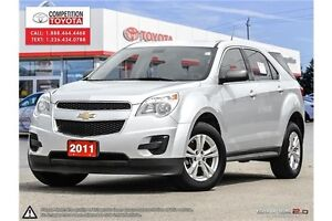 2011 Chevrolet Equinox LS One Owner, No Accidents