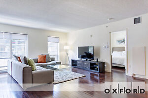 Fully Furnished 1 Bedroom Rental Suite in Downtown Montreal