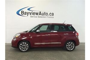 2015 Fiat 500L LOUNGE- TURBO! PANOROOF! LEATHER! NAV! BLUETOOTH!