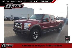 2015 Ford F-350 KING RANCH, SUNROOF, SONY AUDIO, NAVIGATION