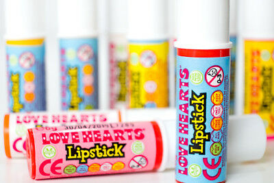 80s Party Table Decorations - Sweet Lipsticks - Pack of ten - 80s Sweets](80s Table Decorations)