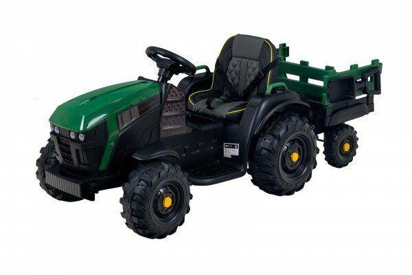Kindertraktor Elektro TD925 mit Anhänger
