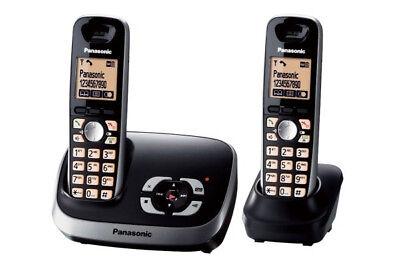 Panasonic KX-TG6522GB Duo Schnurlostelefon mit AB und zusätzlichem Mobilteil ()