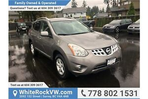 2013 Nissan Rogue S LOCAL CAR, EXCELLENT CONDITION, LOW KM'S