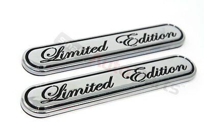 2 Chrome Special Limited Edition Emblem for car*truck*suv rear trunk/side/fender
