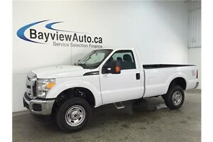 2015 Ford F250SD XL- REG CAB! 8' BOX! 6.2L! TOW/HAUL! A/C!