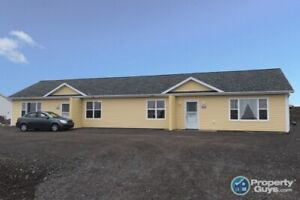 2 unit, single level duplex on .52 ac. Live in one, rent other!