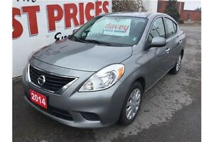2014 Nissan Versa 1.6 SV BLUETOOTH, HEATED MIRRORS, MP3 INPUT