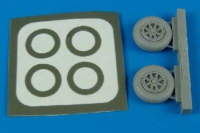Aires 1/72 Avenger Wheel Paint Masks For HSG AHM7208