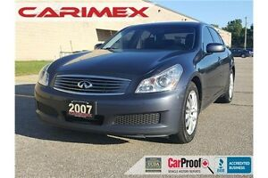 2007 Infiniti G35 | CERTIFIED + E-Tested Kitchener / Waterloo Kitchener Area image 1