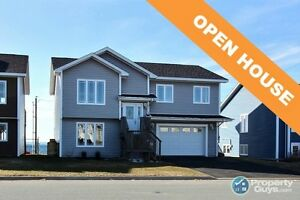 OPEN HOUSE! Panoramic views of Conception Bay. 4 bed/3 bath