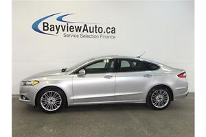 2016 Ford FUSION SE- AWD! ECO BOOST! SUNROOF! HEATED LEATHER!