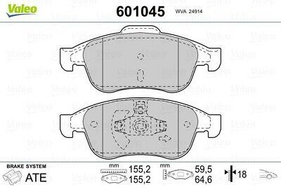 EBC Greenstuff Sportbremsbeläge Vorderachse DP21485 für Dacia Lodgy