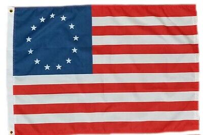 2x3 Betsy Ross USA American 13 Star Flag Banner FAST SHIP by - Flag Banner