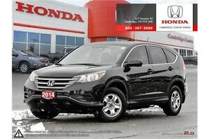 2014 Honda CR-V LX MULTI-ANGLE REAR VIEW CAMERA WITH GUIDELIN... Cambridge Kitchener Area image 1