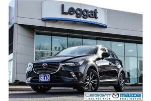 2018 Mazda CX-3 GT GT- LEATHER, MOONROOF, BOSE, BLUETOOTH, RE...