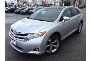 2013 TOYOTA VENZA V6 - DUAL SUNROOFS - LEATHER - REARVIEW CAM