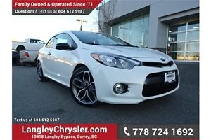 2016 Kia Forte Koup 1.6L SX LOW KMS, LOCALLY DRIVEN & ACCIDEN...