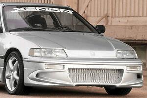 Xenon Front Fascia Bumper 88 90 91 Honda CRX