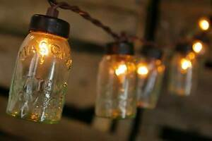 Mini Glass Mason Jar Light Covers for Wedding String Lights (48)