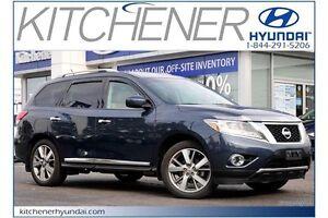 2014 Nissan Pathfinder PLATINUM // AWD // LEATHER // NAVI //