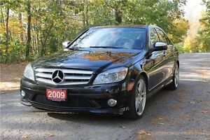 2009 Mercedes-Benz C-Class   AWD 4Matic   CERTIFIED Kitchener / Waterloo Kitchener Area image 1