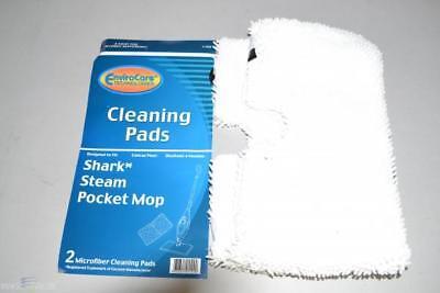 2PK SHARK STEAM POCKET MOP MICRO-FIBER CLEANING PADS