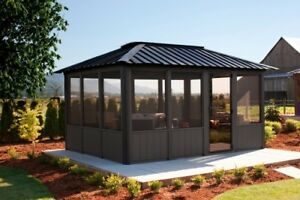 Visscher Gazebos Best Prices Delivered Installed Jacuzzi Aurora