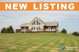 Stellarton -  2 bed chalet style home on 2 acres. PRIVACY!