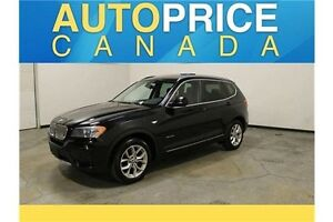 2013 BMW X3 xDrive28i TECH PKG|NAVIGATION|PANOROOF