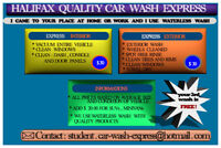 QUALITY  CAR  WASH  EXPRESS / ECOLOGICAL STEAM CLEANING