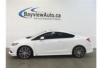 2012 Honda CIVIC SI- 6 SPEED! TINT! SUNROOF! NAV! BLUETOOTH!