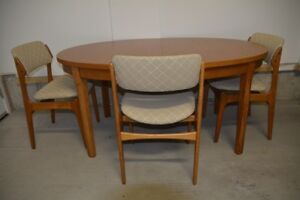 Dining Room Set Including Buffet Hutch Sell Due To DownsizingTeak Buy And Furniture In Ottawa Kijiji Classifieds