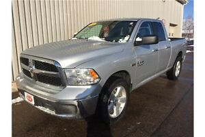 2016 RAM 1500 SLT SLT 4X4 QUAD CAB V8 8 SPEED EDITION WITH LO...