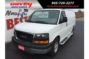 2015 GMC Savana 2500 1WT AIR CONDITIONING, POWER WINDOWS, POW...