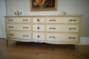 Antique French 9 DR. Dresser - free delivery