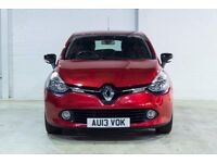 Renault CLIO DYNAMIQUE MEDIANAV (red) 2013