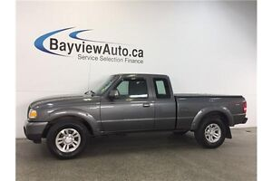 2009 Ford RANGER SPORT- 5 SPEED! 4x4! HITCH! A/C!