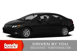 2012 Honda Civic LX LOW MILEAGE - GREAT CONDITION - EXTENDED...