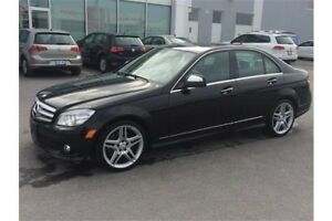 2009 Mercedes-Benz C-Class | AWD 4Matic | CERTIFIED