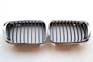 BMW 525i 530i 1999-2003 OEM FRONT GRILL ASSEMBLY 51137005838