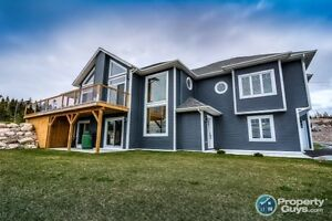 Remarkable hillside home with quality finishing.