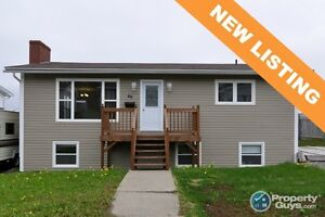 NEW LISTING! Renovated 3 bed with 2 bed apt. Many updates