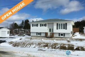 Lovely 4 bdrm/1.5 bath home with detached garage in Hare Bay